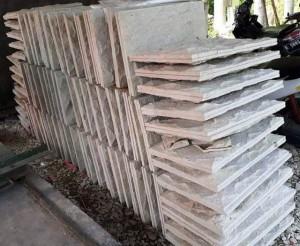 Batu Palem Bobos Pabrik Batu Alam Cirebon